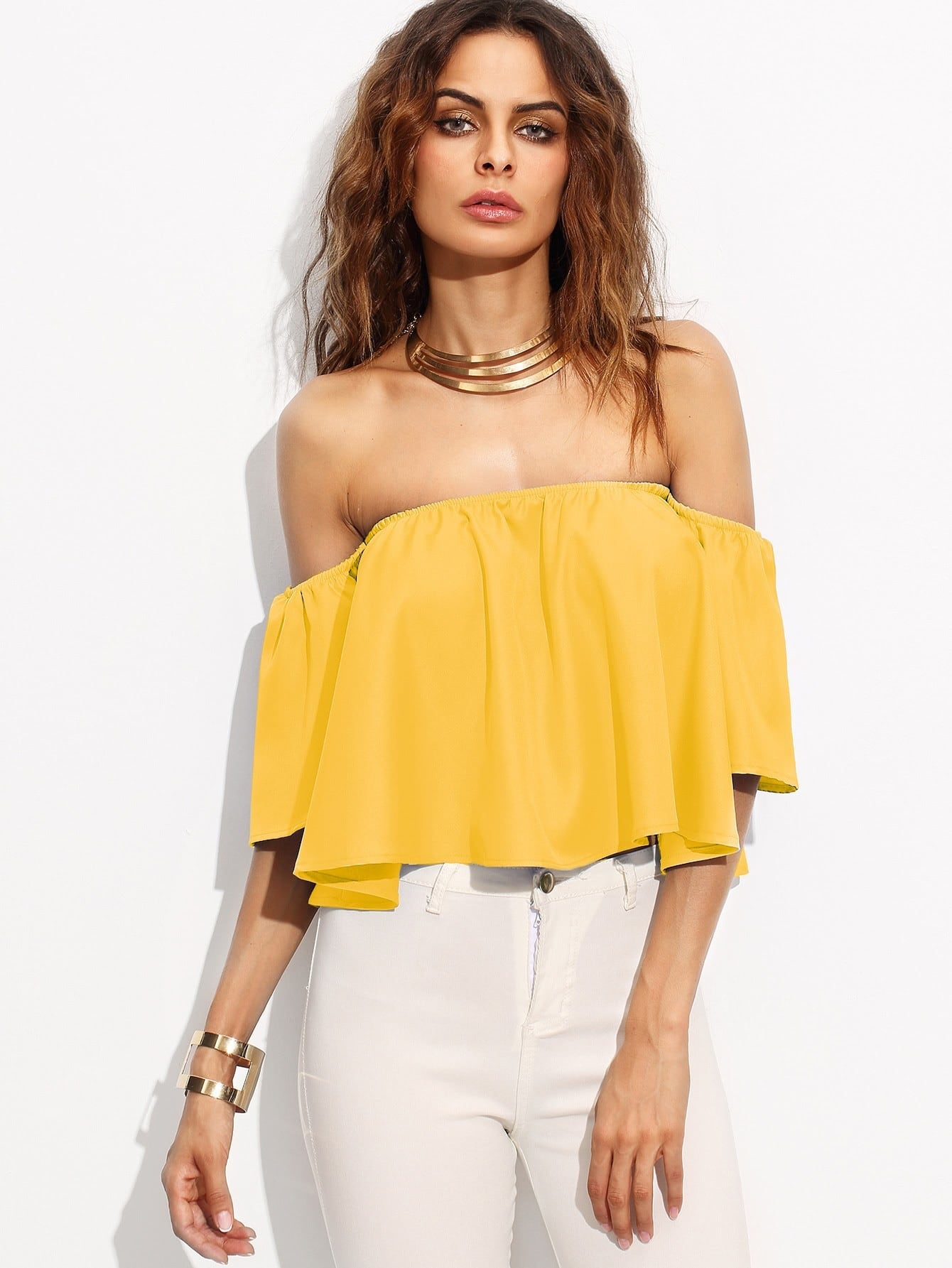 Off Shoulder Crop Top ноутбук dell inspiron 5567 5567 1998 5567 1998