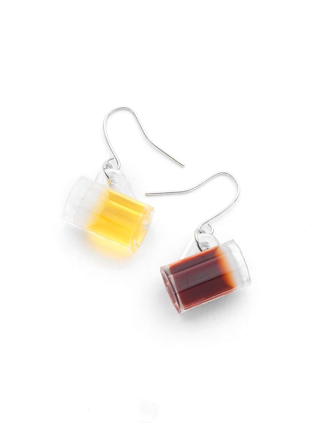 Cup Shaped Drop Earrings earringER170621304