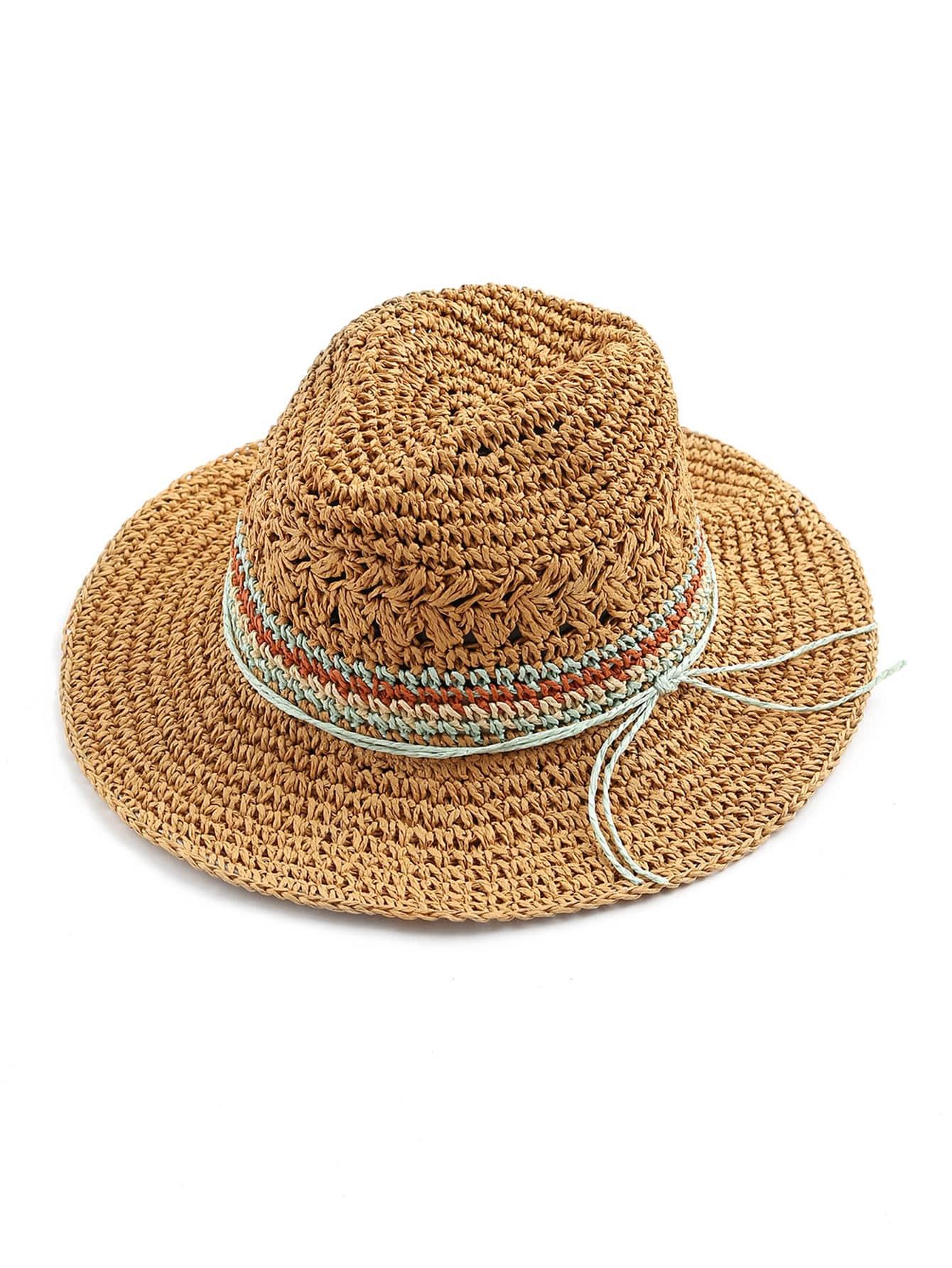 Фото Straw Fedora Hat. Купить с доставкой