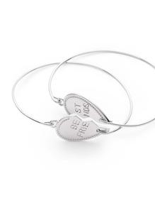 Set di braccialetto a forma di cuore di amicizia