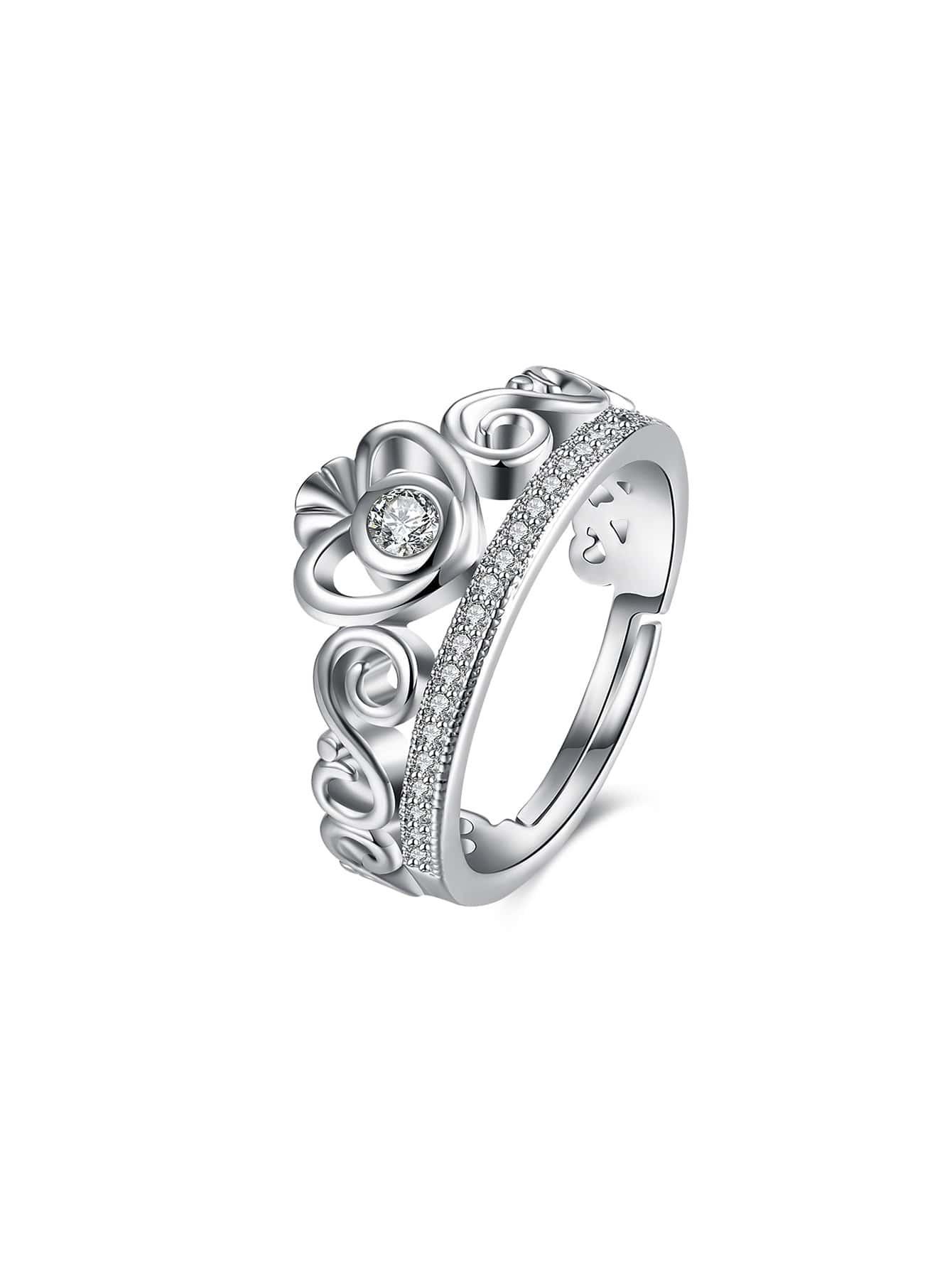 Фото Rhinestone Decorated Adjustable Ring. Купить с доставкой