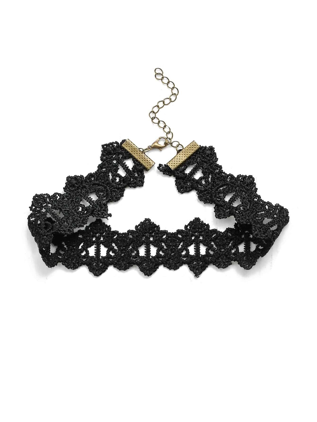 Фото Simple Lace Choker Necklace. Купить с доставкой