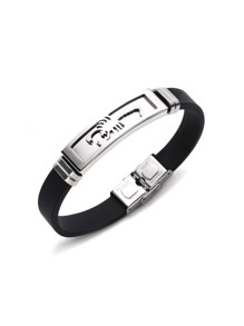 Metal Scorpion Detail Sports Bracelet