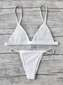 Beach Triangle Bikini Set
