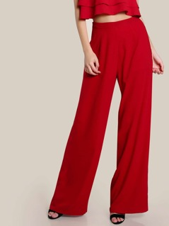 High Rise Wide Leg Pants