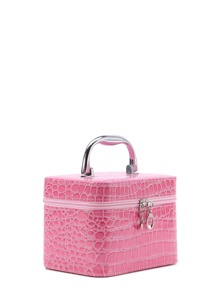 Crocodile Pattern Makeup Case
