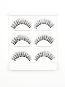 Volume False Eyelash 3pairs
