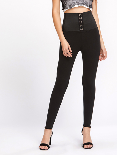 High Rise Corset Leggings