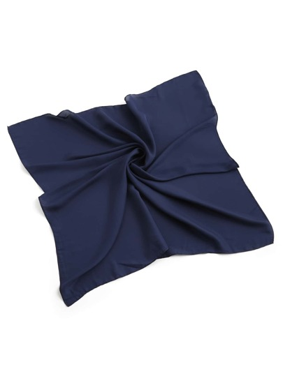 Plain Satin Bandana