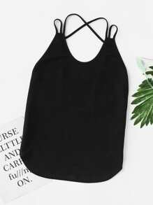 Low Back Strappy Cami Top