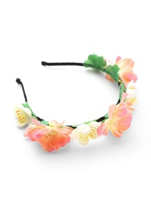 Flower Embellished Headband