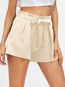Pantaloncini anteriori con cintura autentica