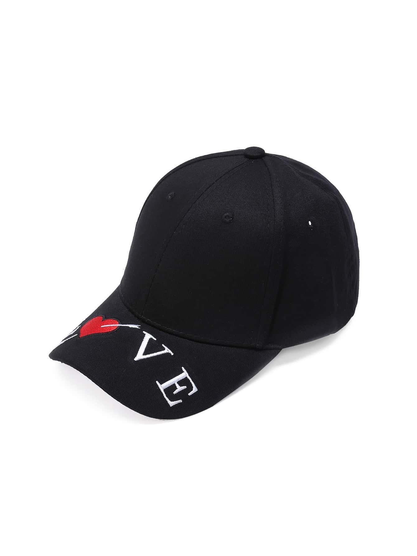 Фото Letter Embroidery Baseball Hat. Купить с доставкой