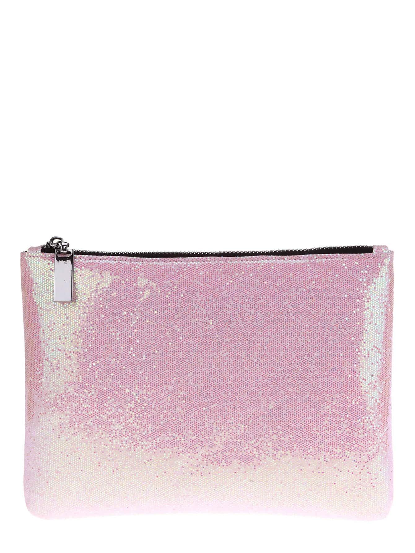 Фото Zipper Glitter Makeup Bag. Купить с доставкой