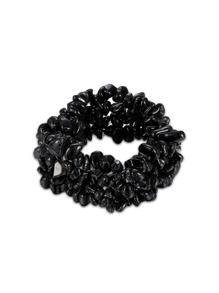Crystal Design Elastic Bracelet