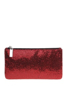 Glitter Makeup Clutch Bag
