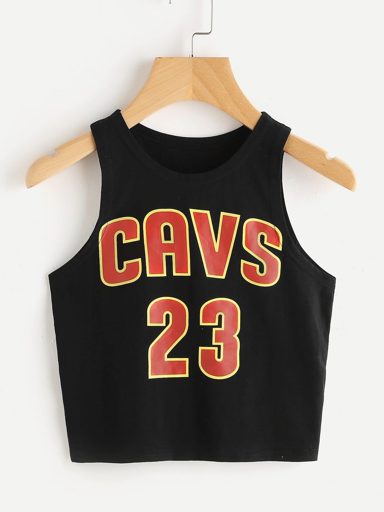 Crop Basketball Tank Top