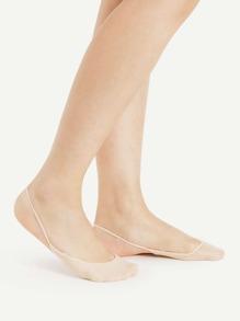 Bare Slingback Liner Socks