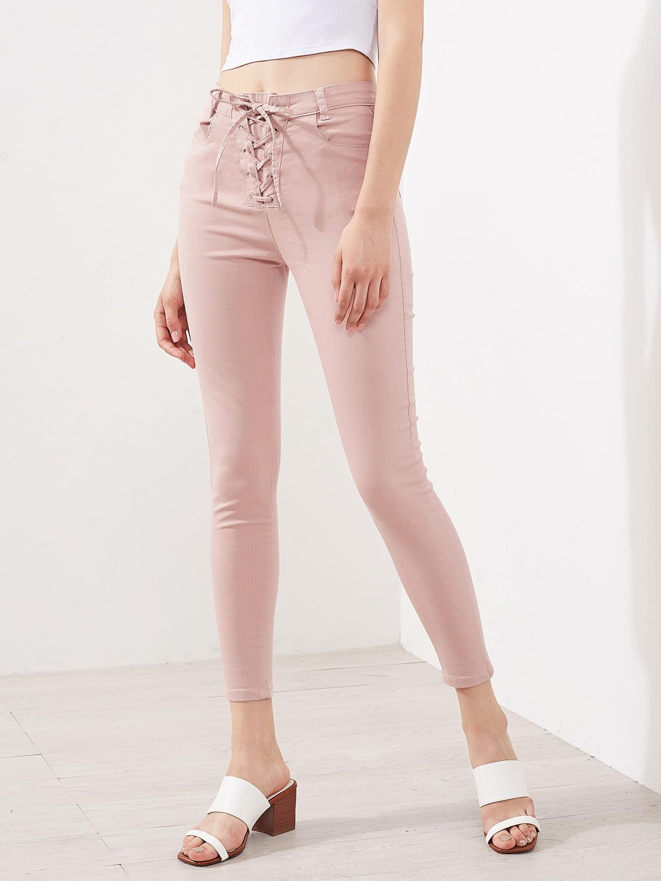 Фото Grommet Lace Up Fry Jeans. Купить с доставкой