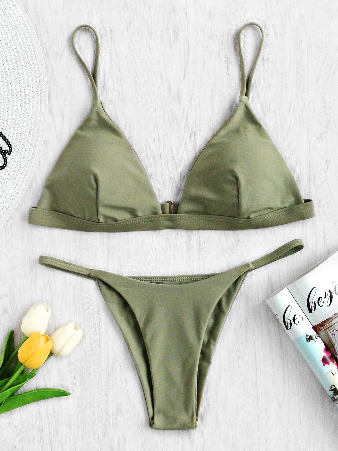 Фото Triangle Beach Bikini Set. Купить с доставкой