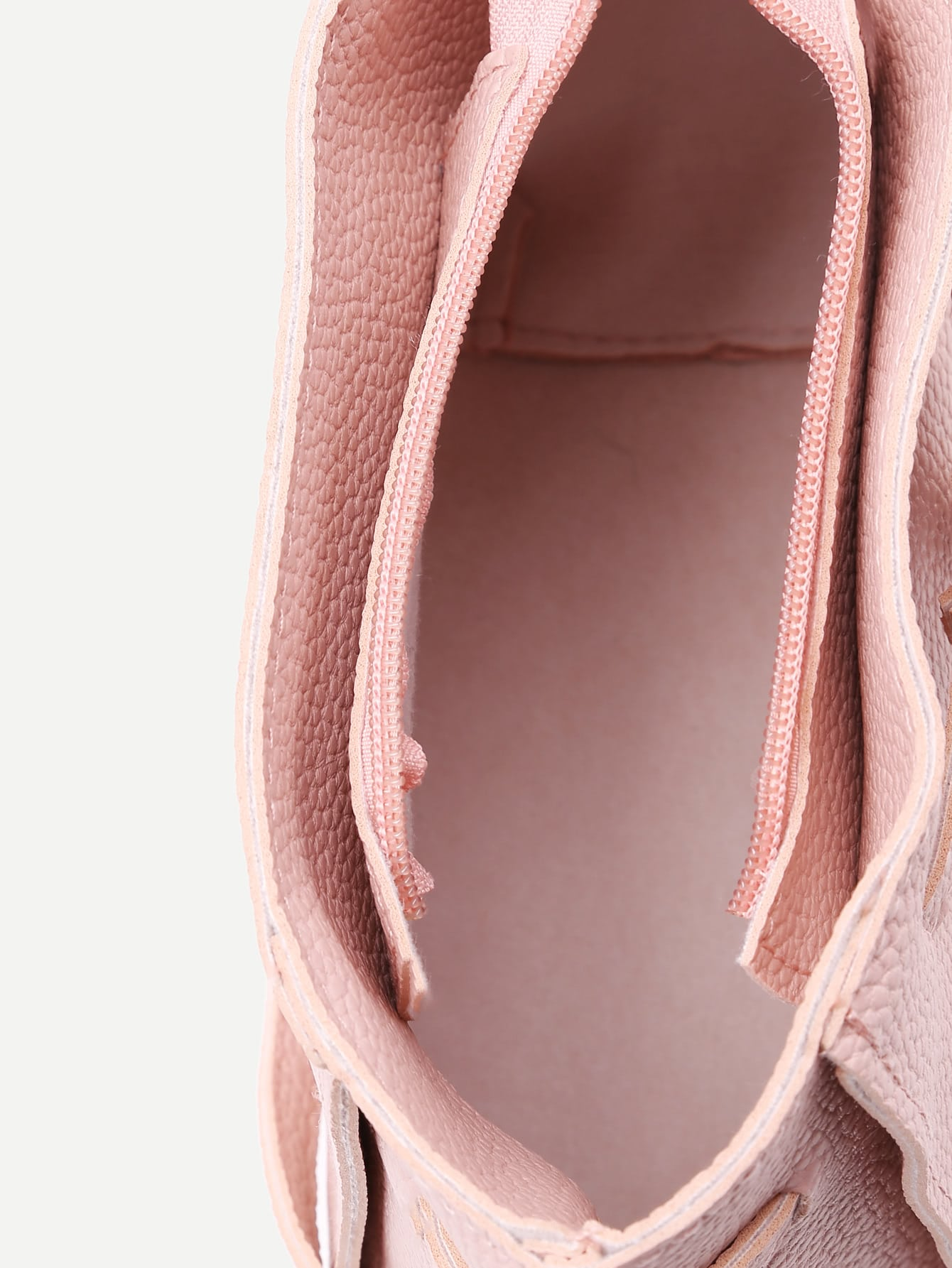 Tassel Detail PU Combination Bag 4pcs