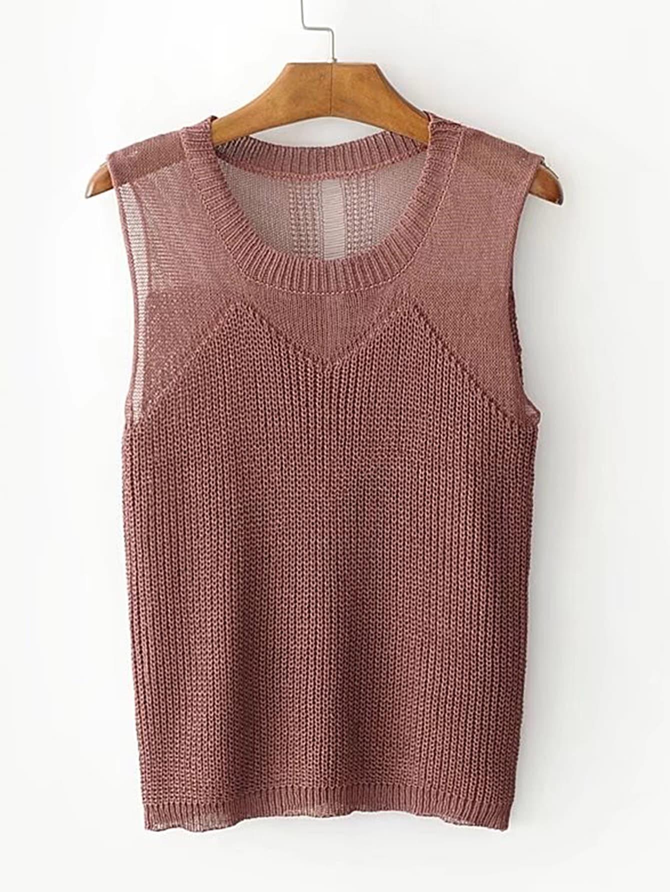 Фото Slim Sweater Vest. Купить с доставкой