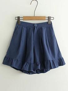 Shorts con volantes