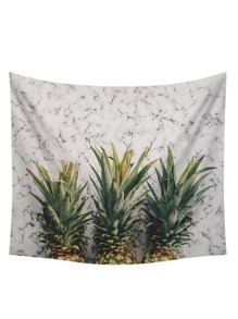 Pineapple Print Tapestry