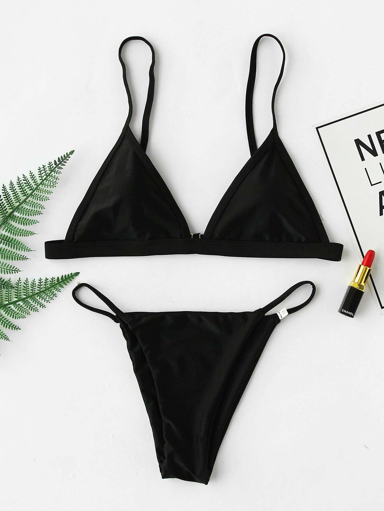 Фото Beach Triangle Bikini Set. Купить с доставкой