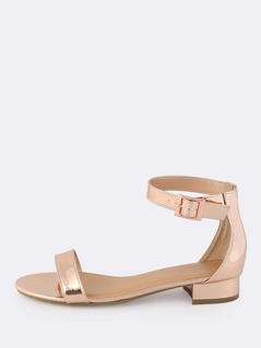 Patent Kitten Heels ROSE GOLD