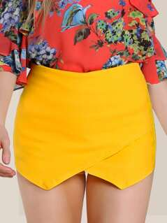 Flap Shorts YELLOW
