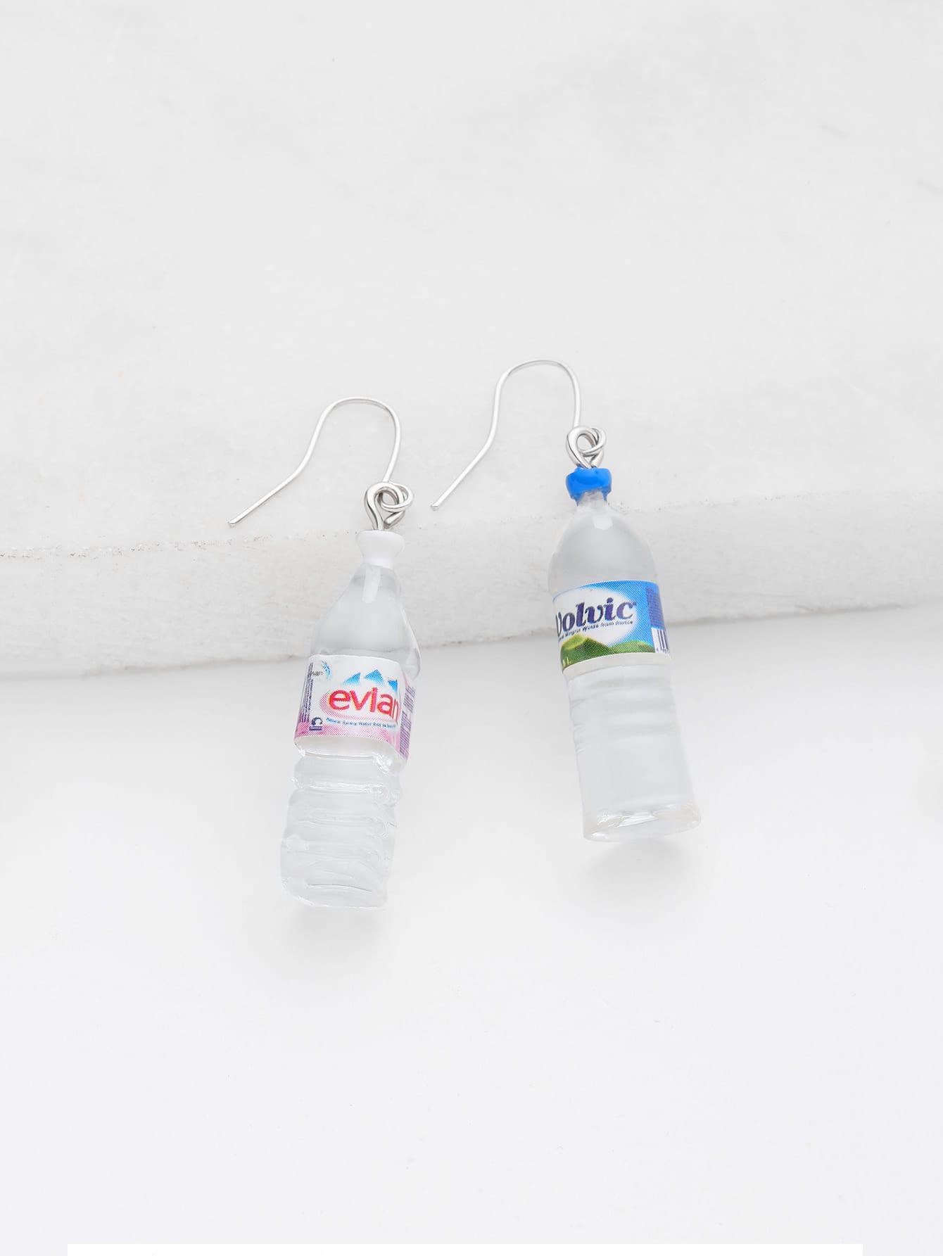 Фото Bottle Shaped Drop Earrings. Купить с доставкой