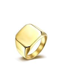Geometric Metal Ring