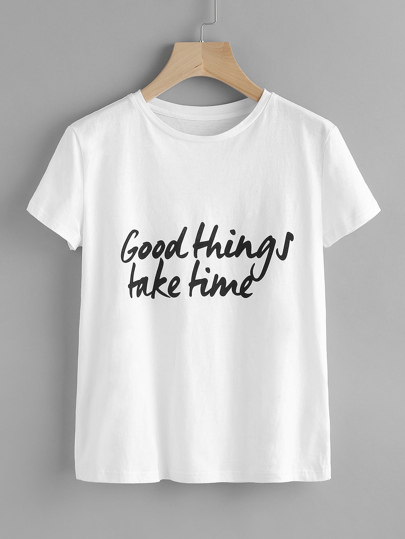 Good Things Take Time Tee