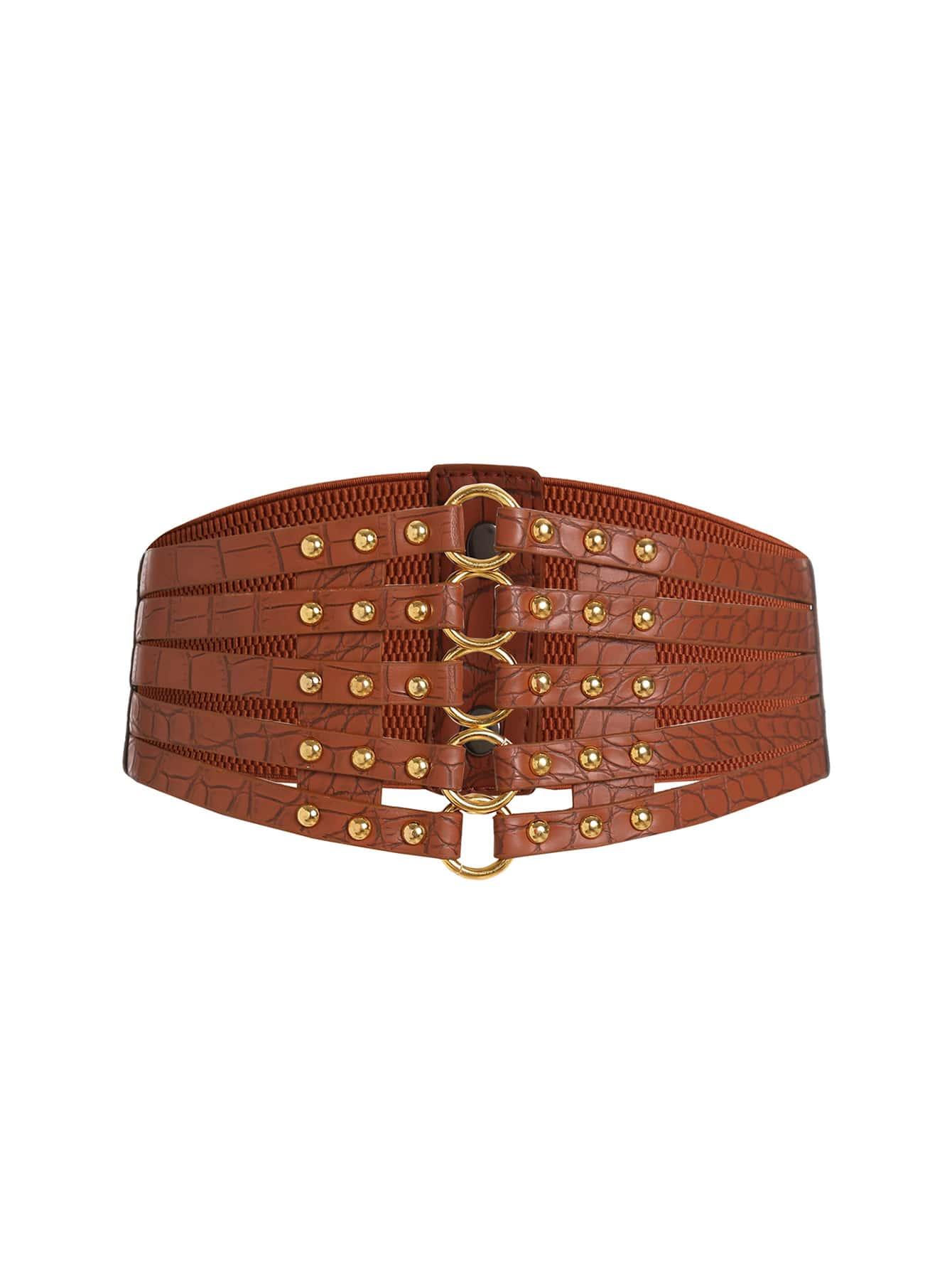 Фото Linked Ring Lattice Corset Belt. Купить с доставкой