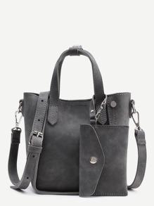 Shoulder Bag With Purse