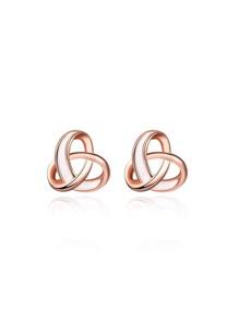 Geometric Design Stud Earrings