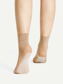 Chaussettes à cheville antidérapantes