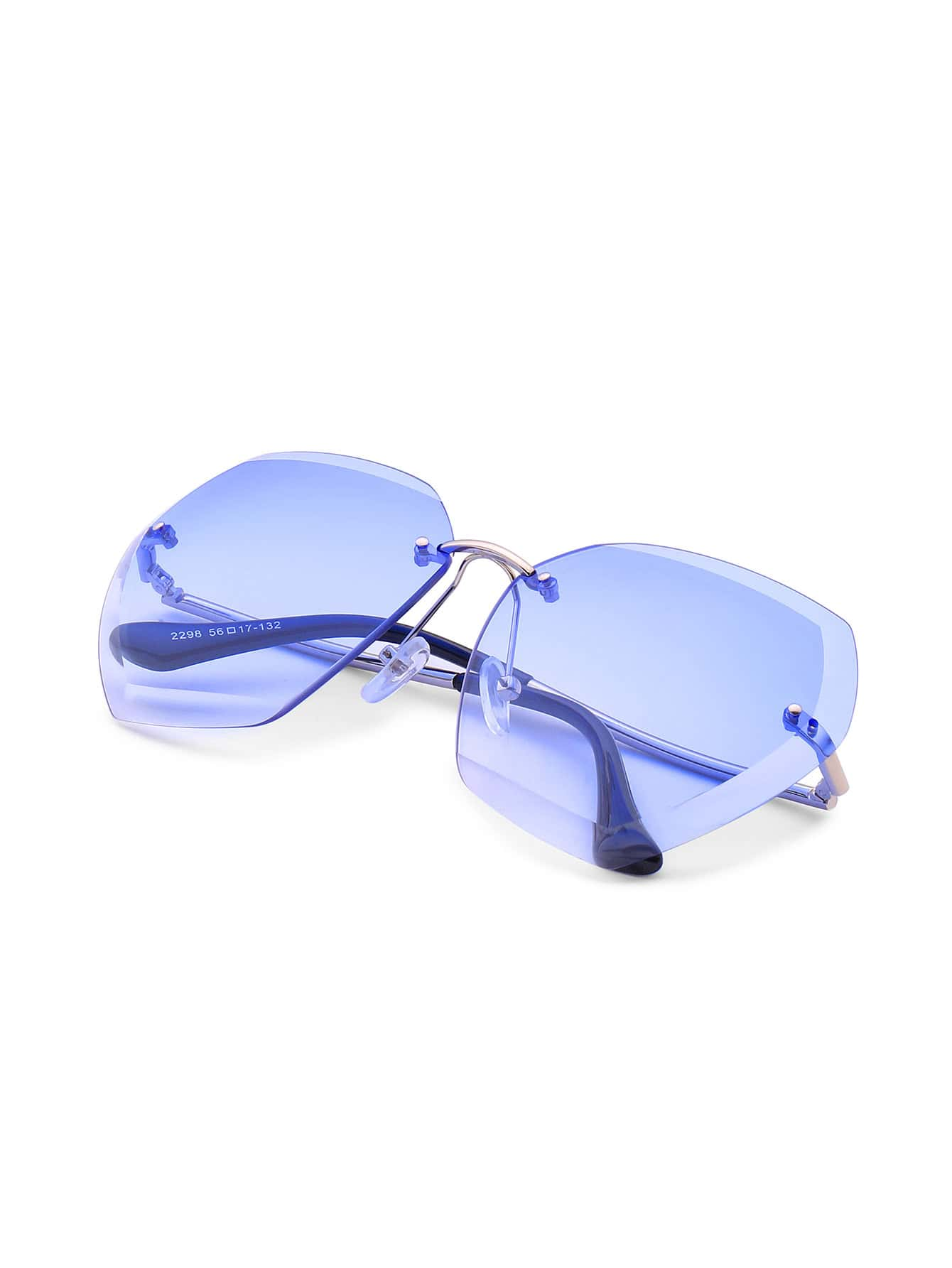 Фото Rimless Oversized Sunglasses. Купить с доставкой