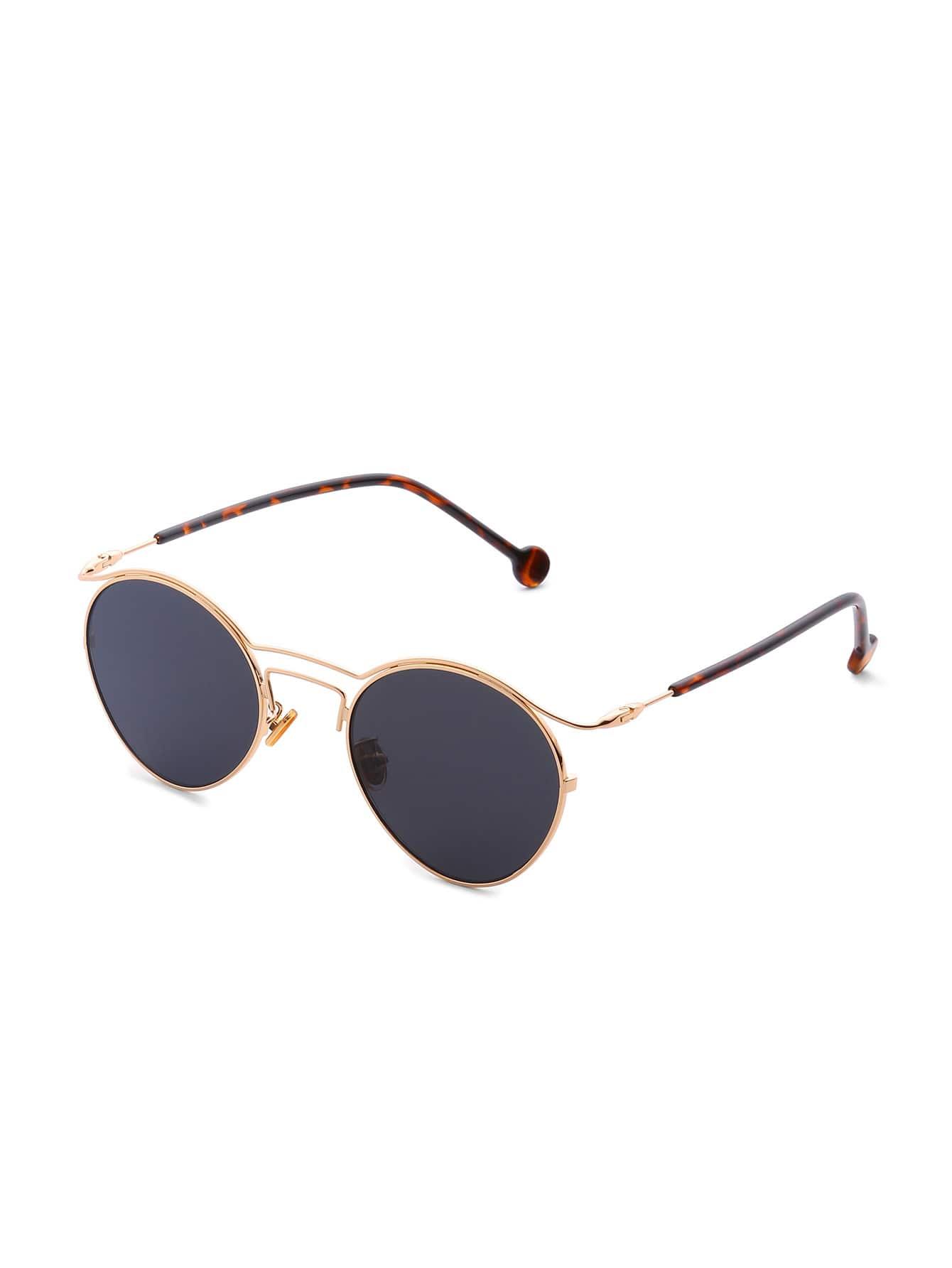 Фото Double Frame Flat Lens Sunglasses. Купить с доставкой