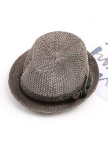Chapeau avec bande lacet