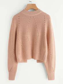 Pull-over à maille en tricot