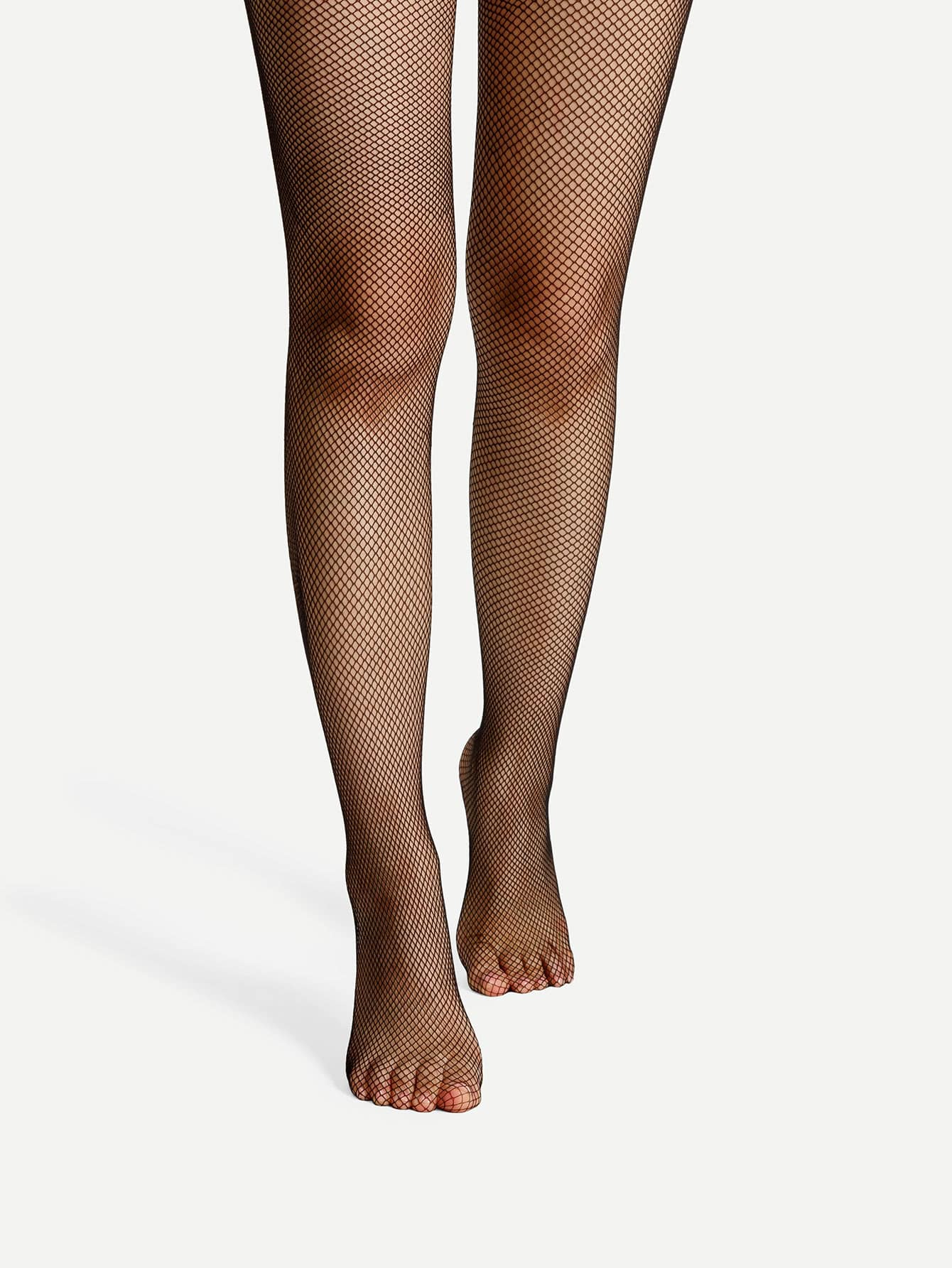 Bow Detail Fishnet Tights