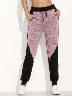 Two Tone Space Dye Sweatpants