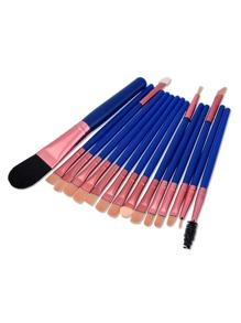 Professional Makeup Eye Brush 15pcs