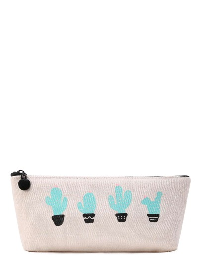 Cactus Print Accessory Case