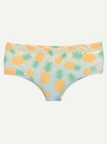 Panty imprimé dséfiler ananas