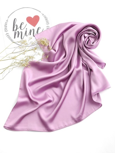 Plain Soft Satin Bandana