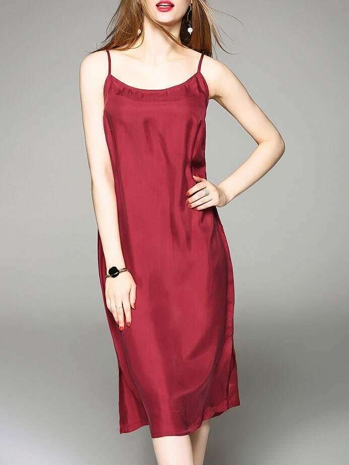 Фото Spaghetti Strap Split Dress. Купить с доставкой