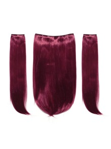 Clip In Straight Hair Extension 3pcs